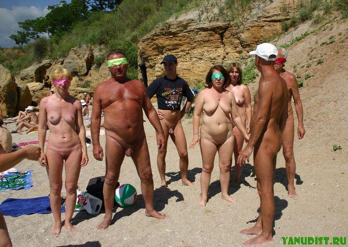 Секс нудистов на ч рном море