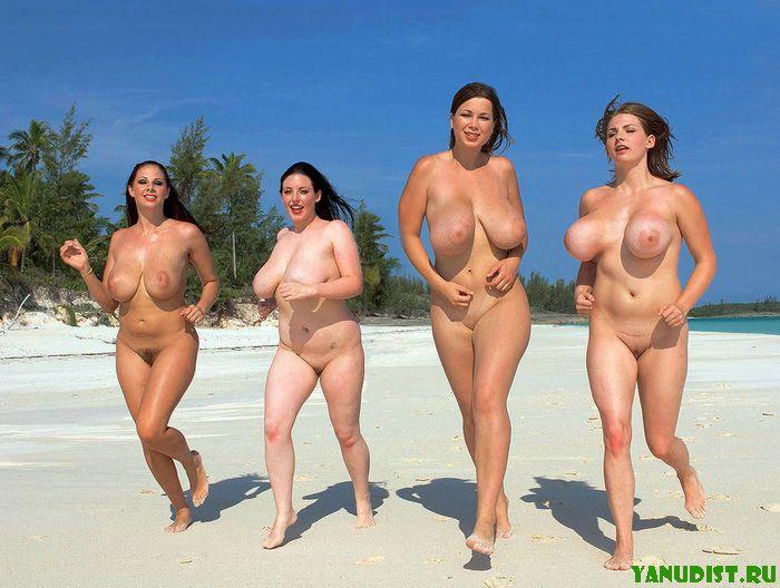 фото голых девушек на острове